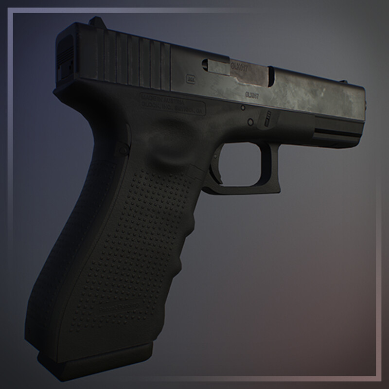 Glock 17A Gen 4 - Game Ready