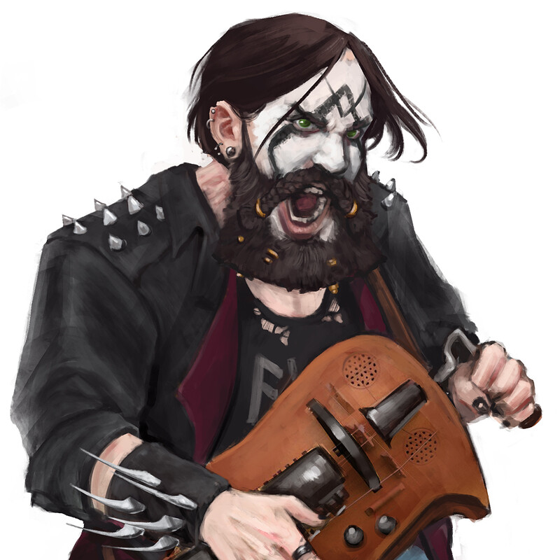 Skåll, Black Metal Bard