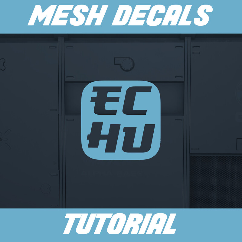 Mesh Decal Tutorial