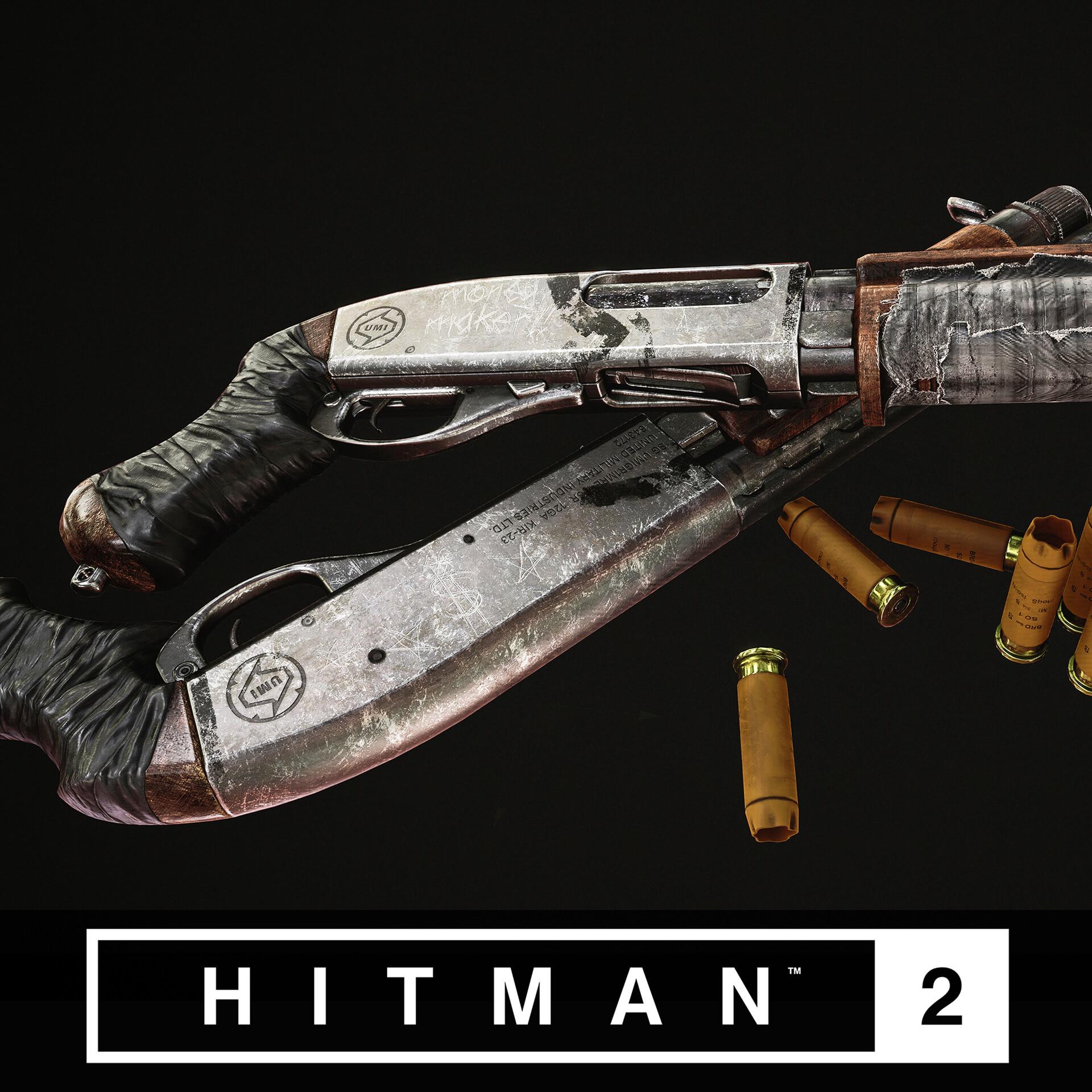 Artstation Hitman 2 Sawed Off Shotgun Emil Skriver
