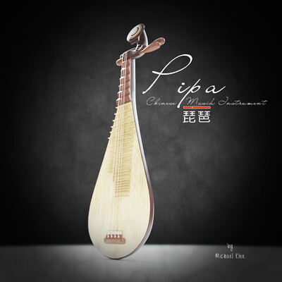 Michael klee pipa chinese music instrument by michael klee7