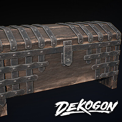 Dekogon Kollab: Medieval Chest
