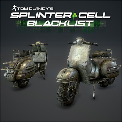 Splinter Cell: Blacklist_Assets & Textures Art