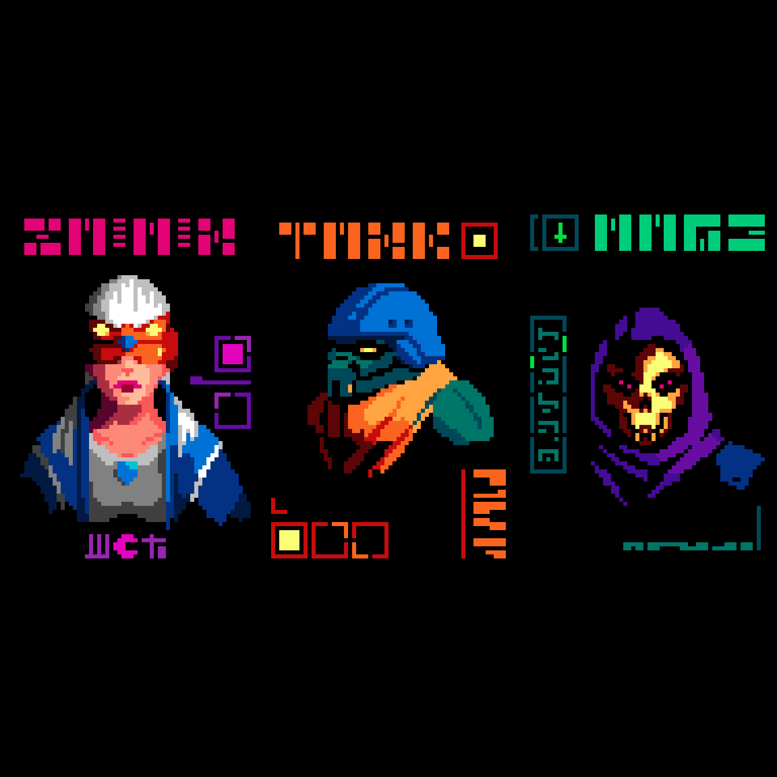 Cyberpunk Masters Vol. 1