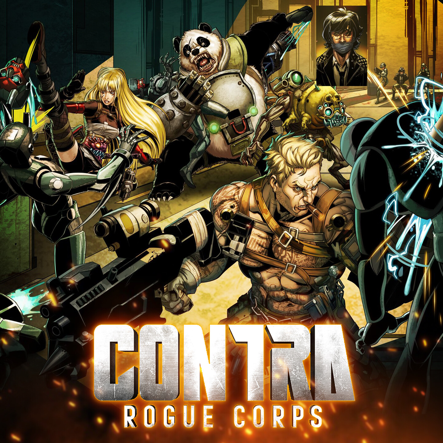 Contra : Rouge Corps