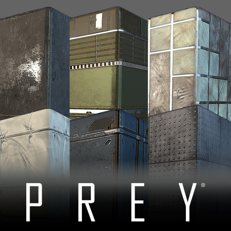 Prey - Textures and Props