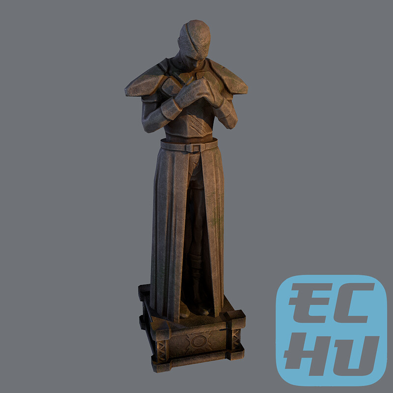 Old Sith Statue