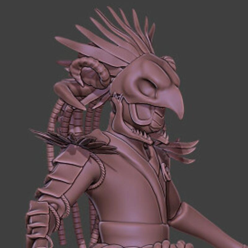 Armor Concept Sculpt