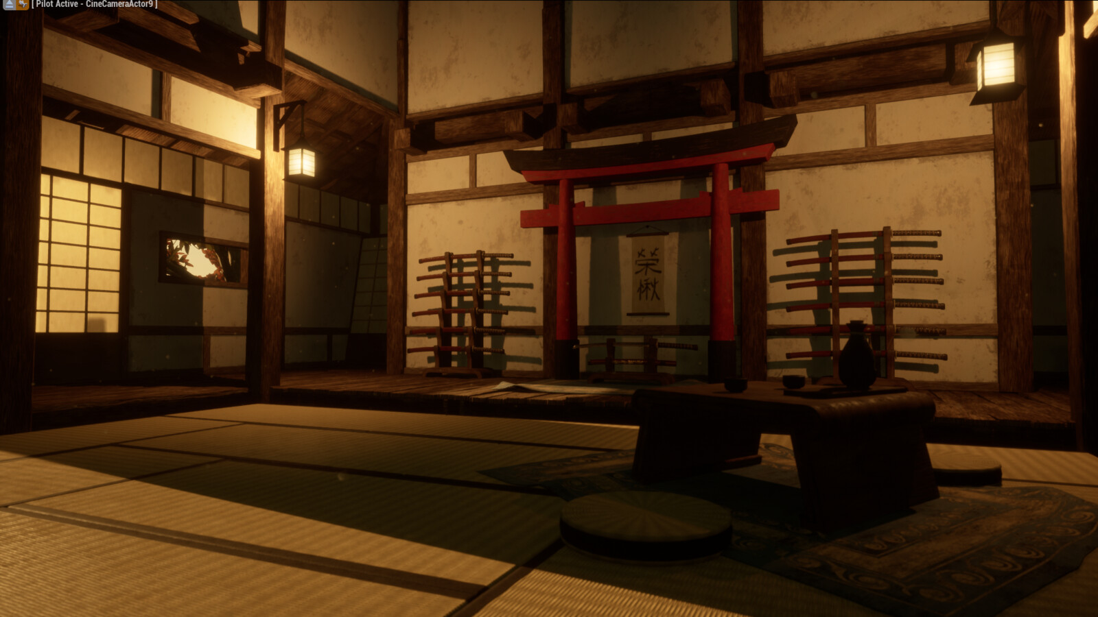 Unreal Engine 4 - Samurai Dojo
