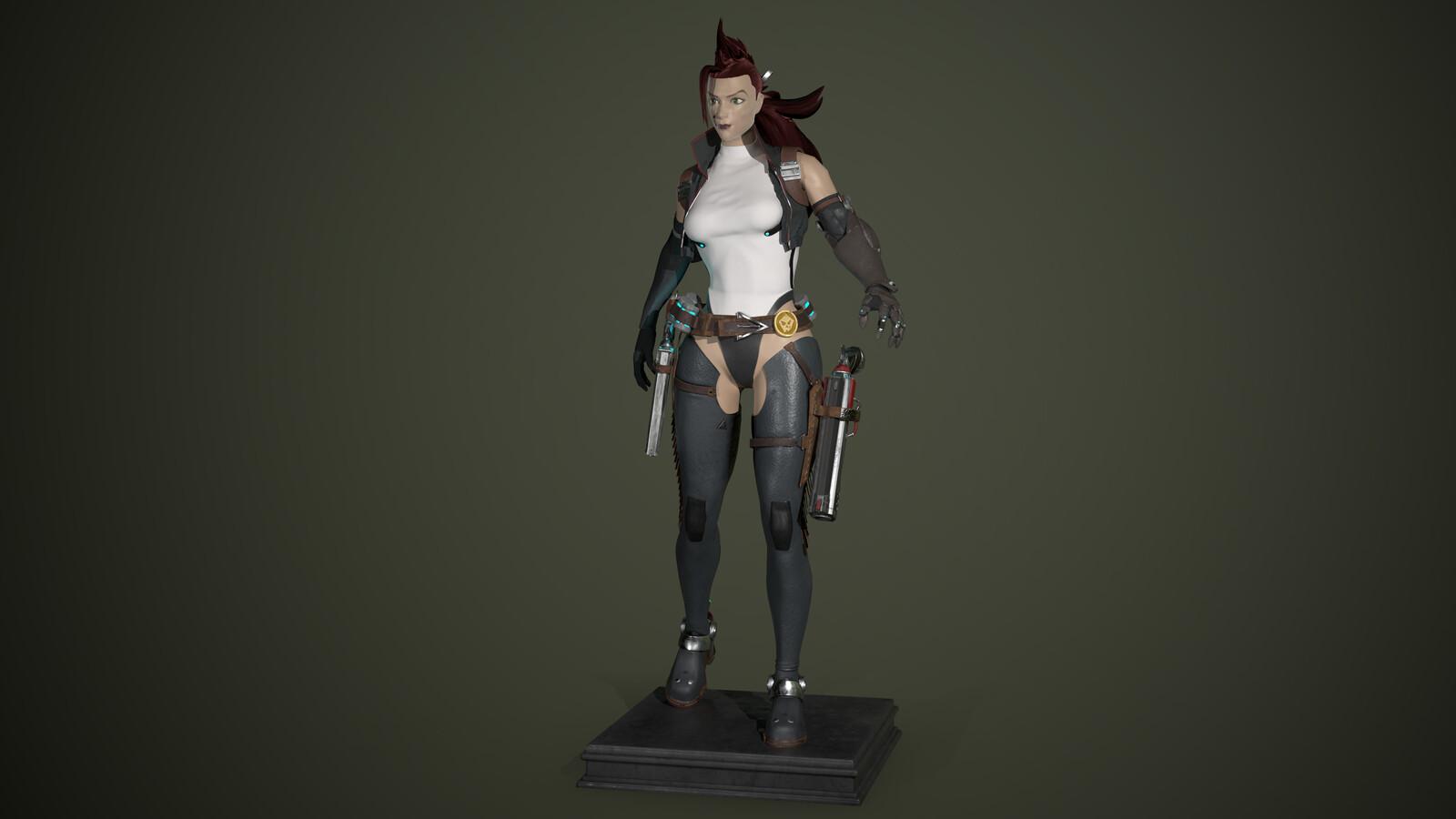 Lucia Character Sculpt