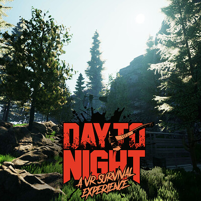 VR Survival Forest - Unreal Engine - Day 2 Night