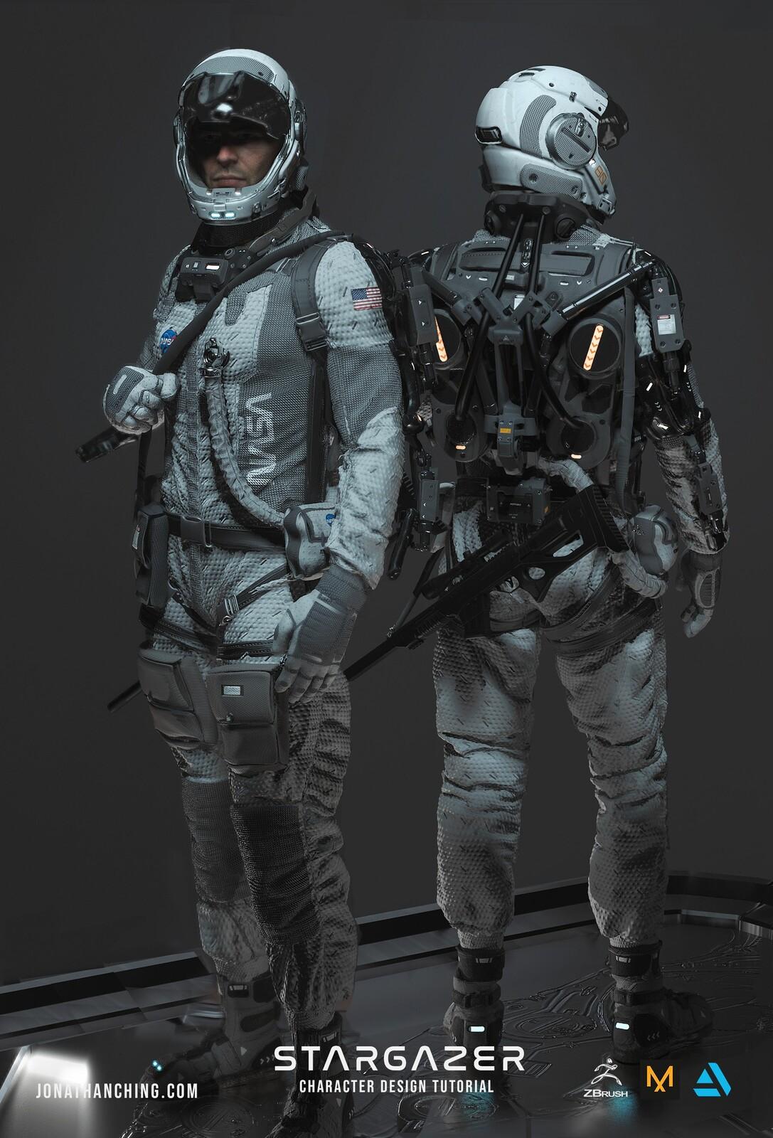 Stargazer: Character Design Tutorial