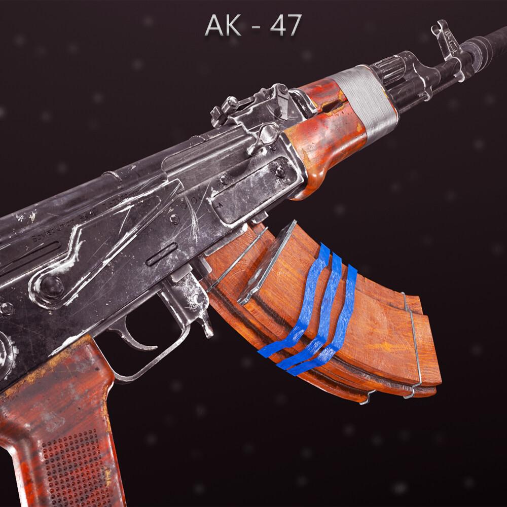 AK-47 Kalashnikov Weapon