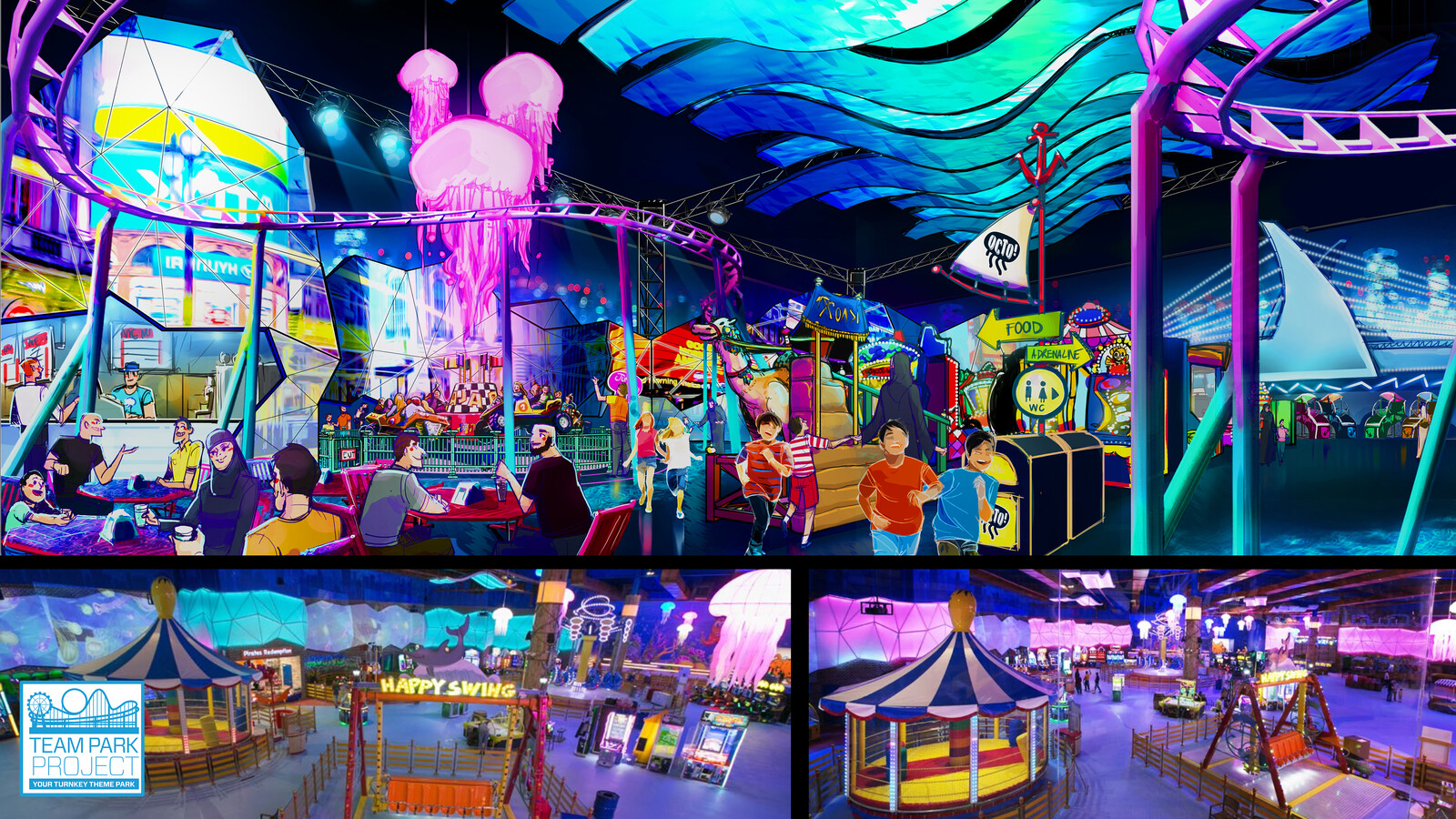 OCTO! | Theme Park Design