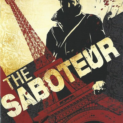 Chris peterson chris peterson the saboteur cover