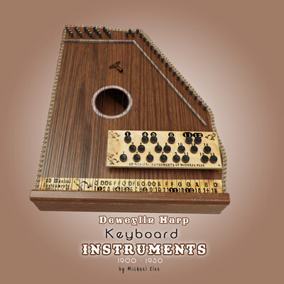 Michael klee deweylin harp keyboard instruments 1900 1930 by michael klee