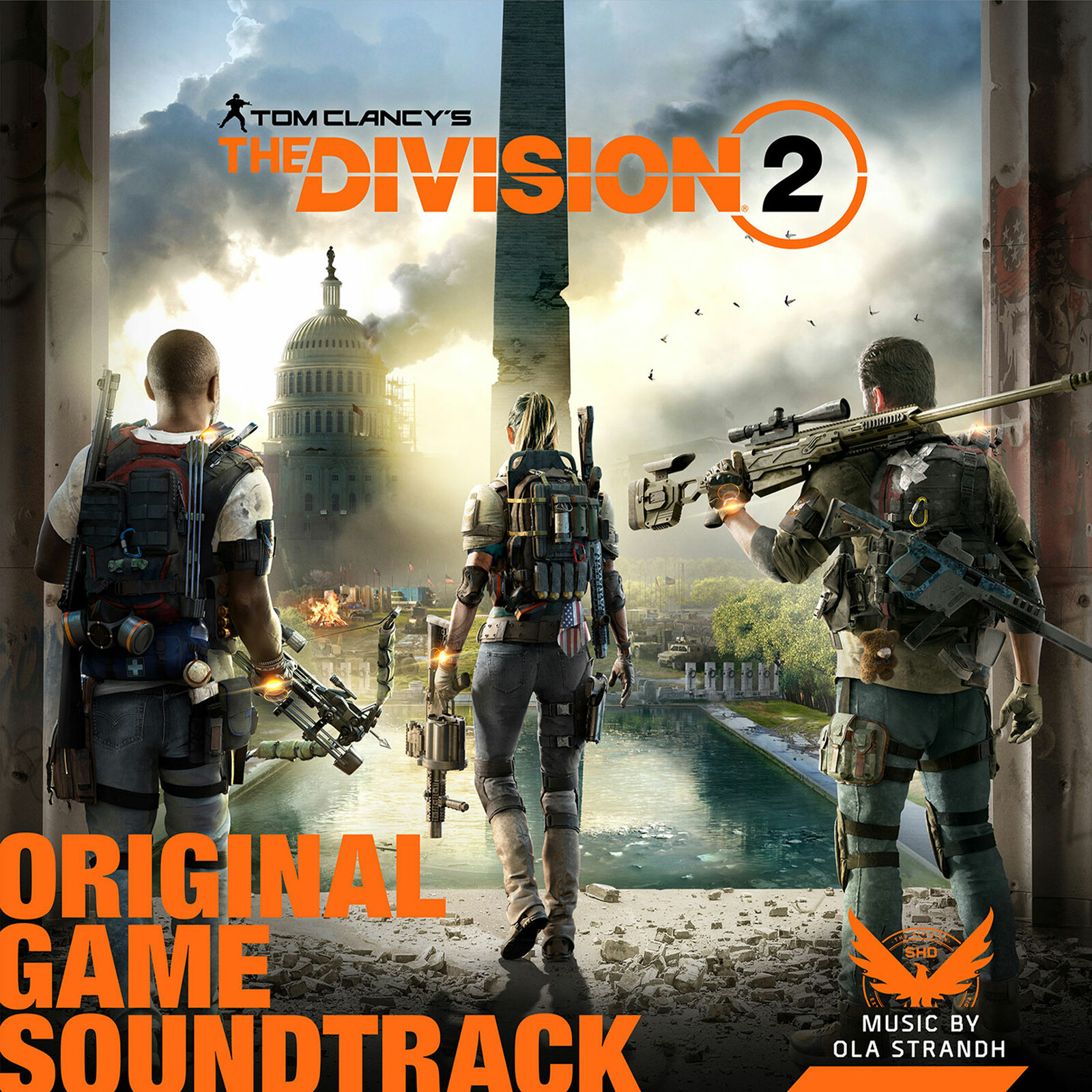 Massive Entertainment - The Division 2 - Soundtrack Cover and banners for social media