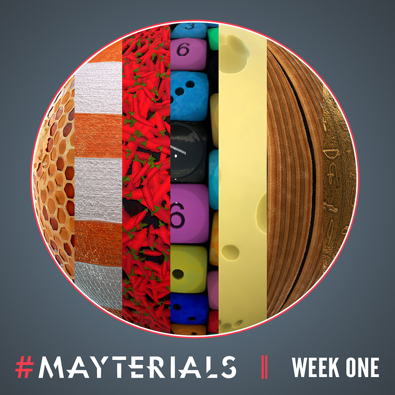 Mayterials 2020 - Week One