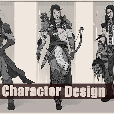 Aishwaary anant aishwaary anant half elf character design1