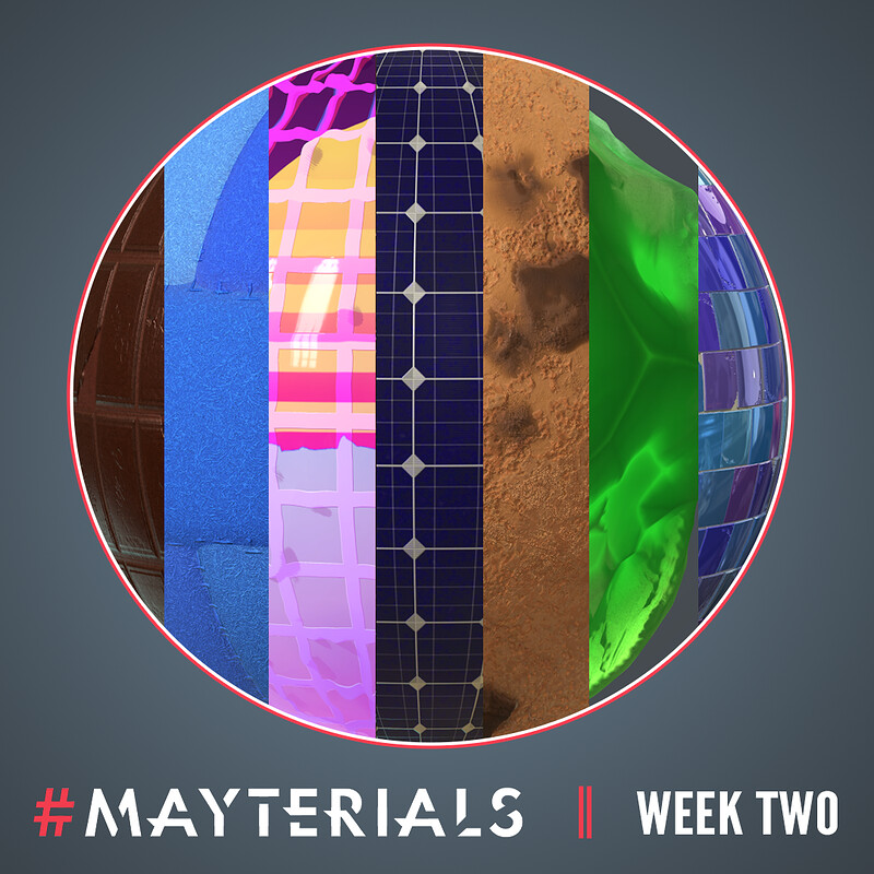Mayterials 2020 - Week Two