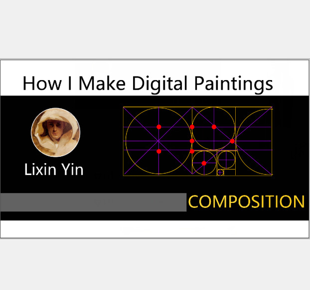 How I Make Digital Paintings | Composition