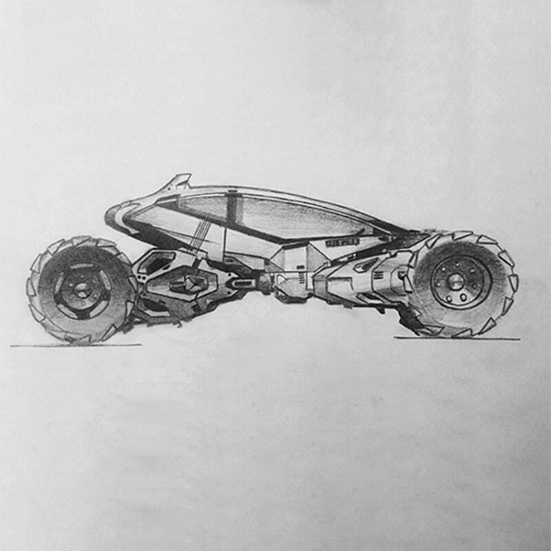 Vehicle sketch 02