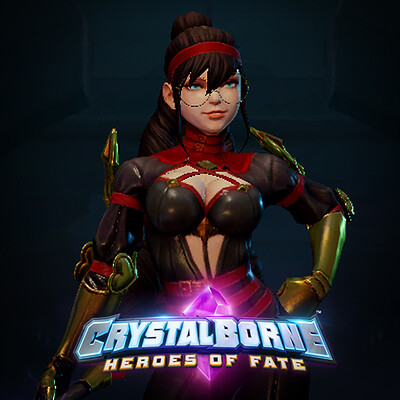 Crystalborne: Characters Re-texturing Collection
