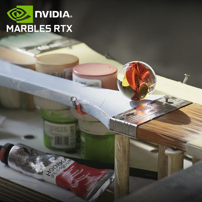NVIDIA Marbles RTX