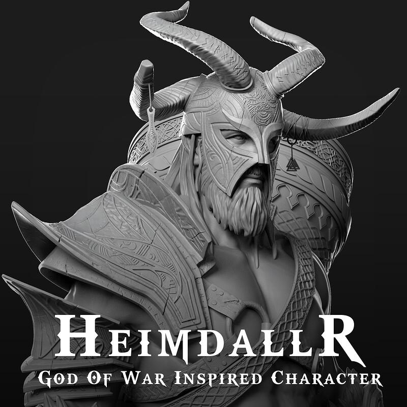 Heimdallr - God Of War Inspired Character