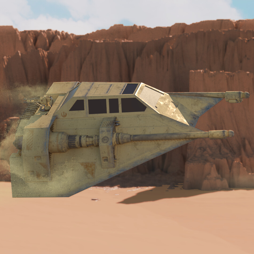 Star Wars: Sand Speeder Concept