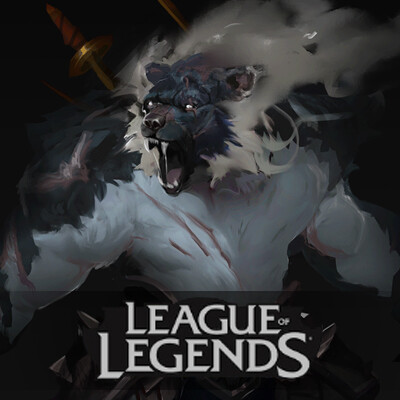"Volibear ""The Relentless Storm"" - Concept Art- League of Legends"