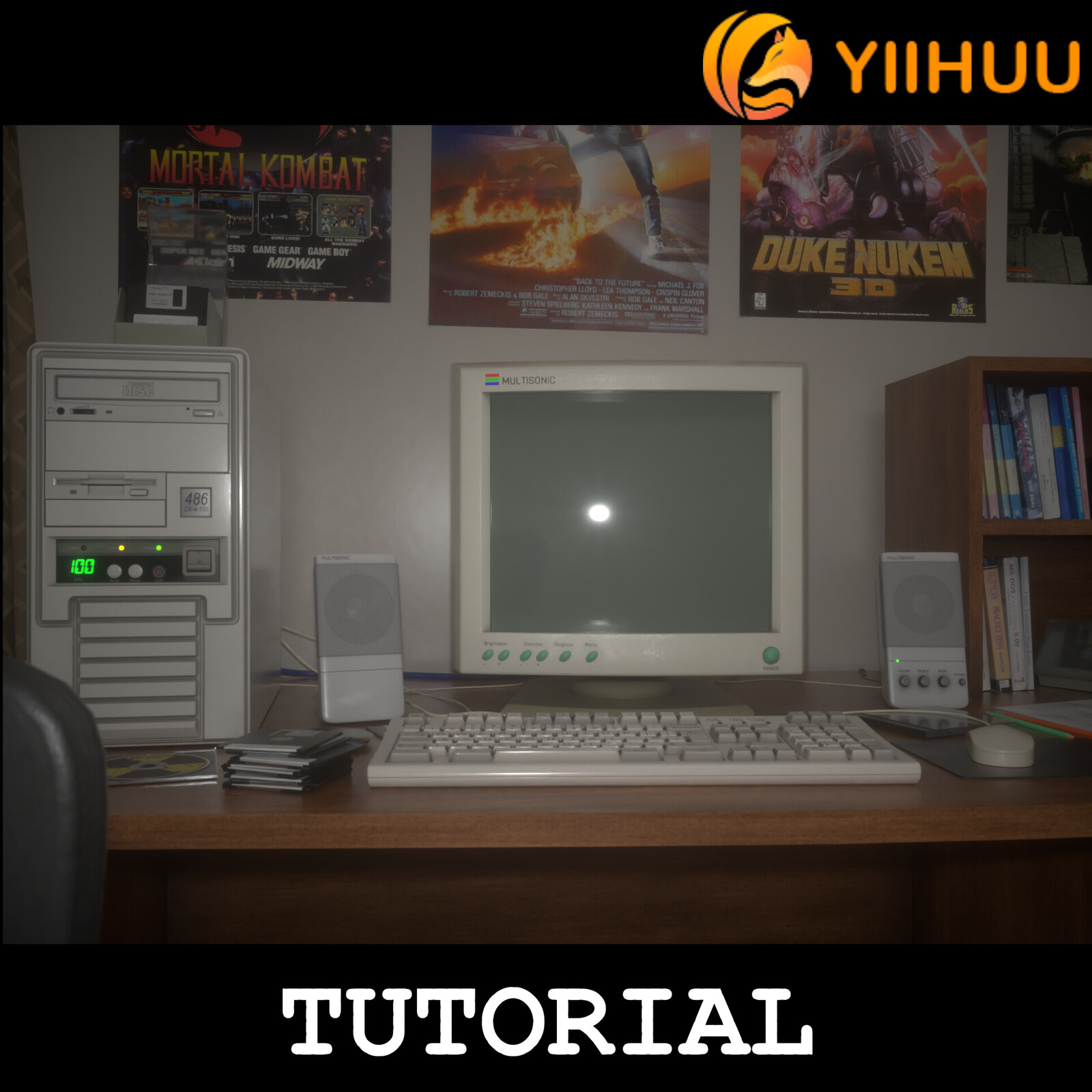 Tutorial - A Scene from 90s