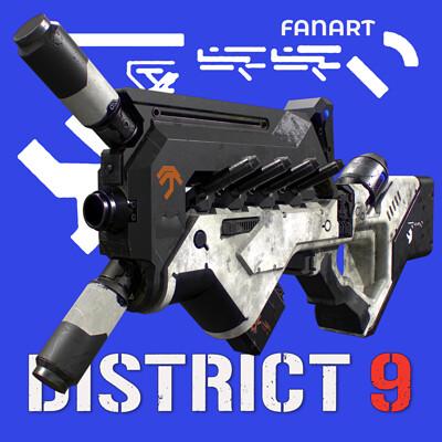 District 9 SMG fanart