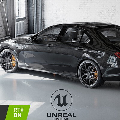 Unreal Engine - E63 AMG Walkaround