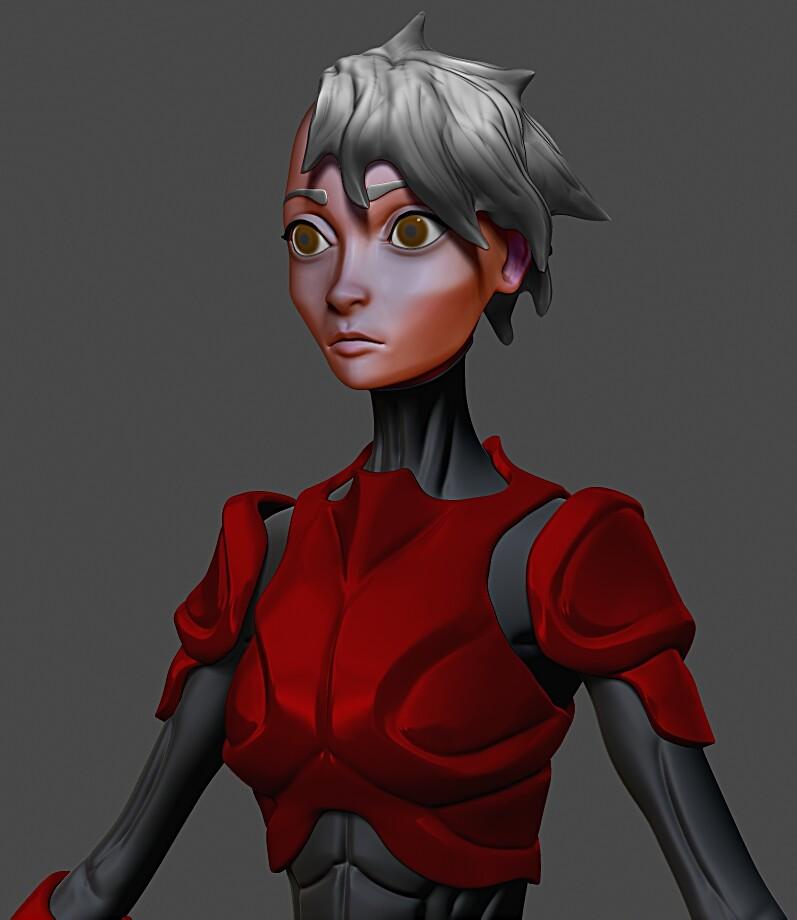 Archetype Red - SuperHero Art Challenge