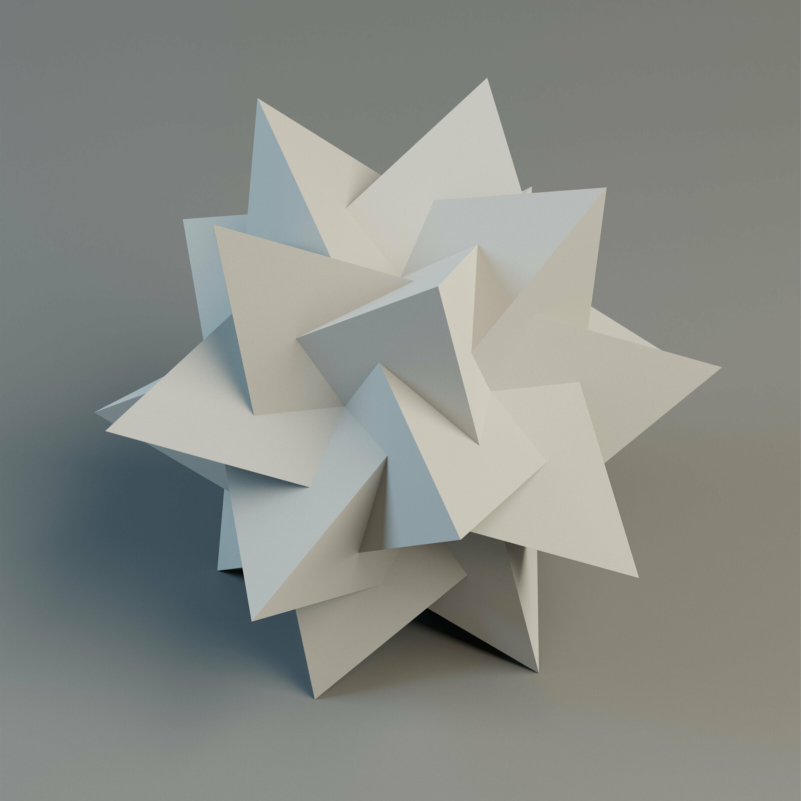 59 Stellations of the icosahedron
