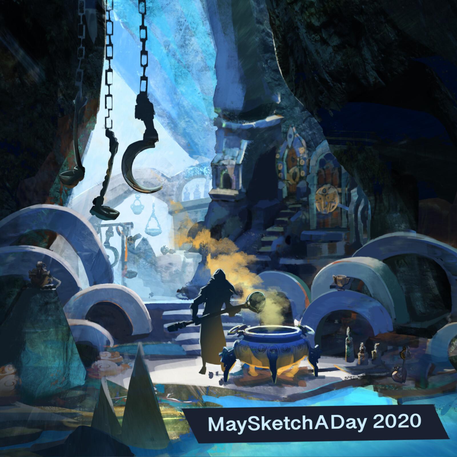 MaySketchADay 2020