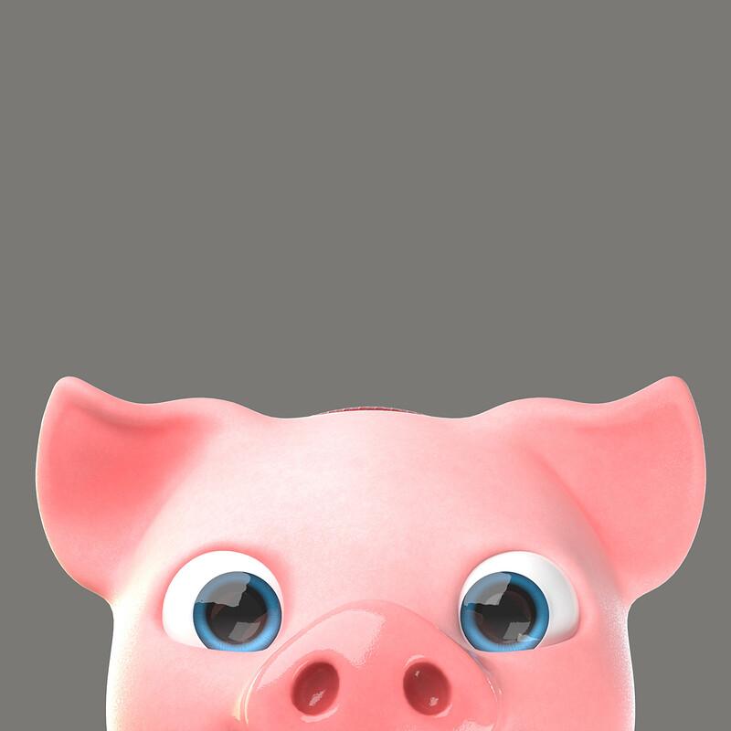 Piggy character design