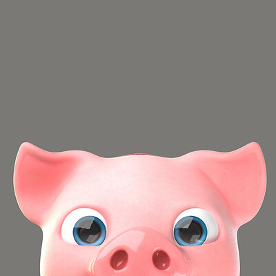 Piggy character design