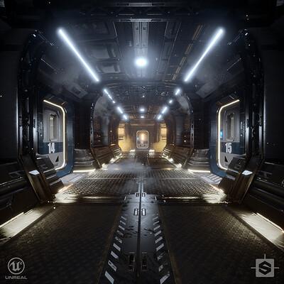 Substance Designer | Hallway