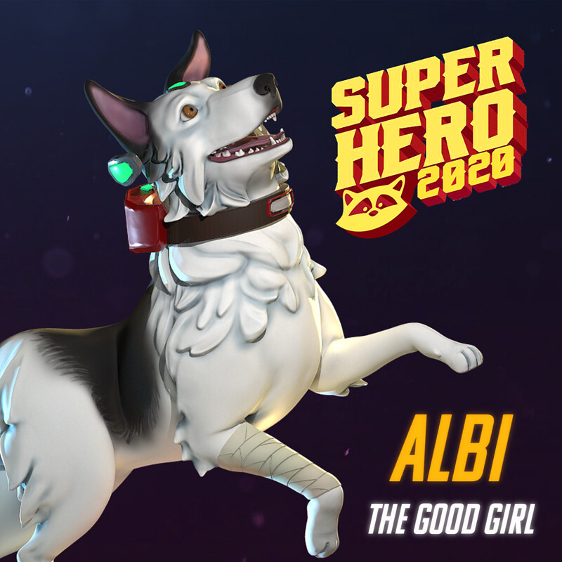 Albi the Good Girl! | Super Hero Challenge 2020