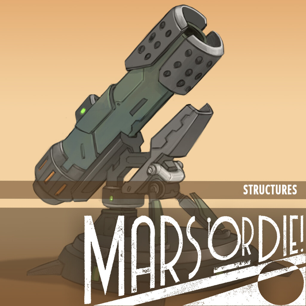 Mars or Die - Structures