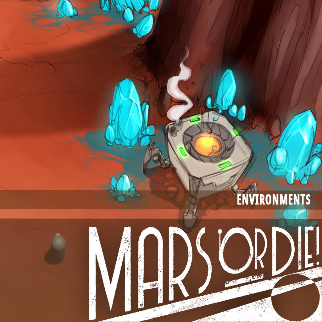 Mars or Die - Env