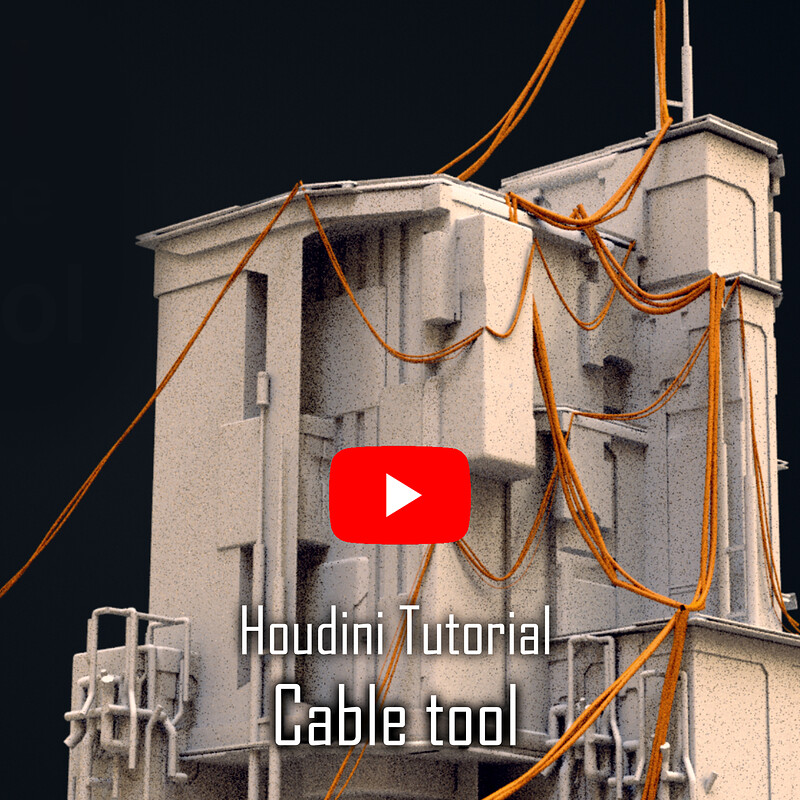 Houdini Cable tool