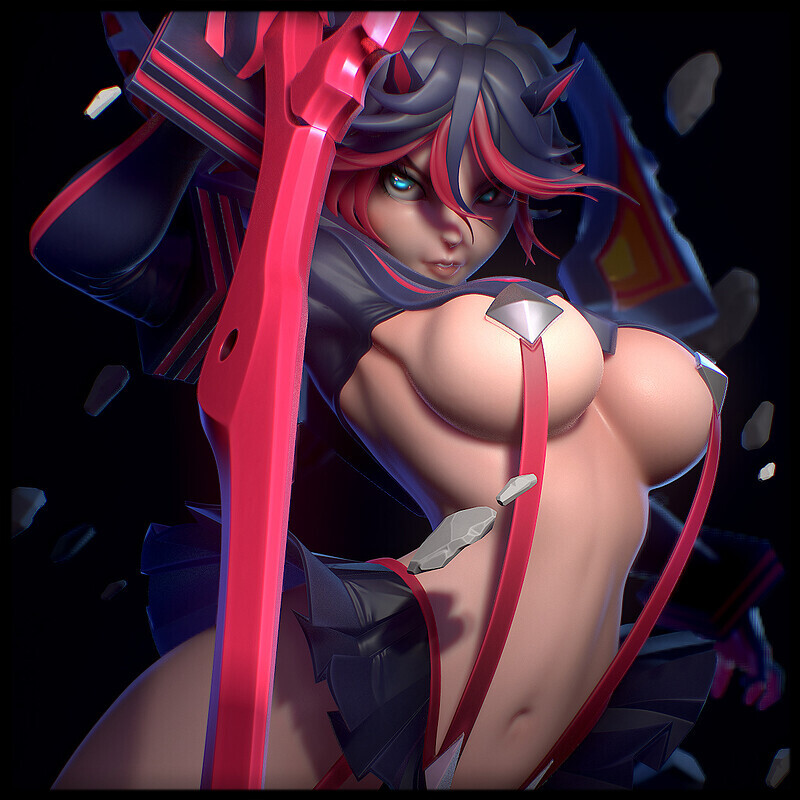 Ryuko Matoi (Based on Illustration by Jimbobox)