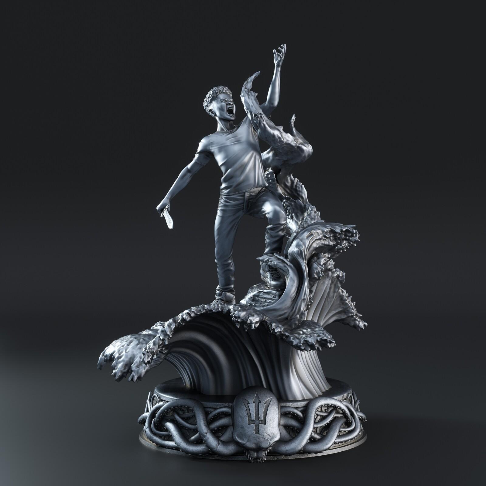 Percy Jackson Statue