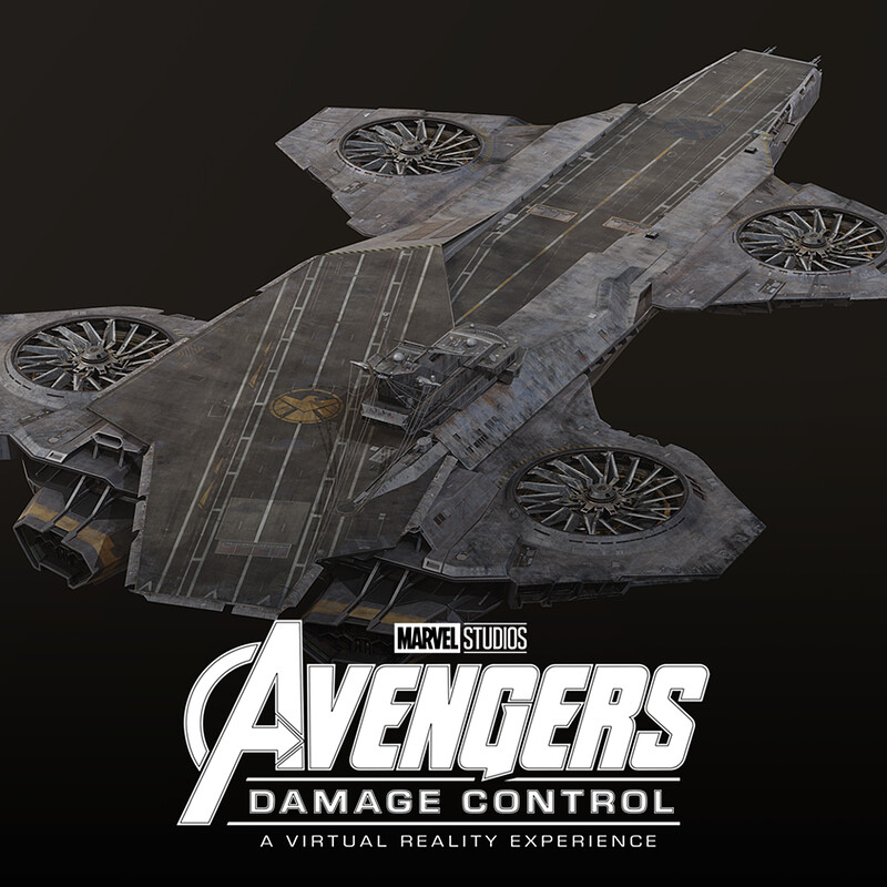 Avengers: Damage Control VR - Helicarrier