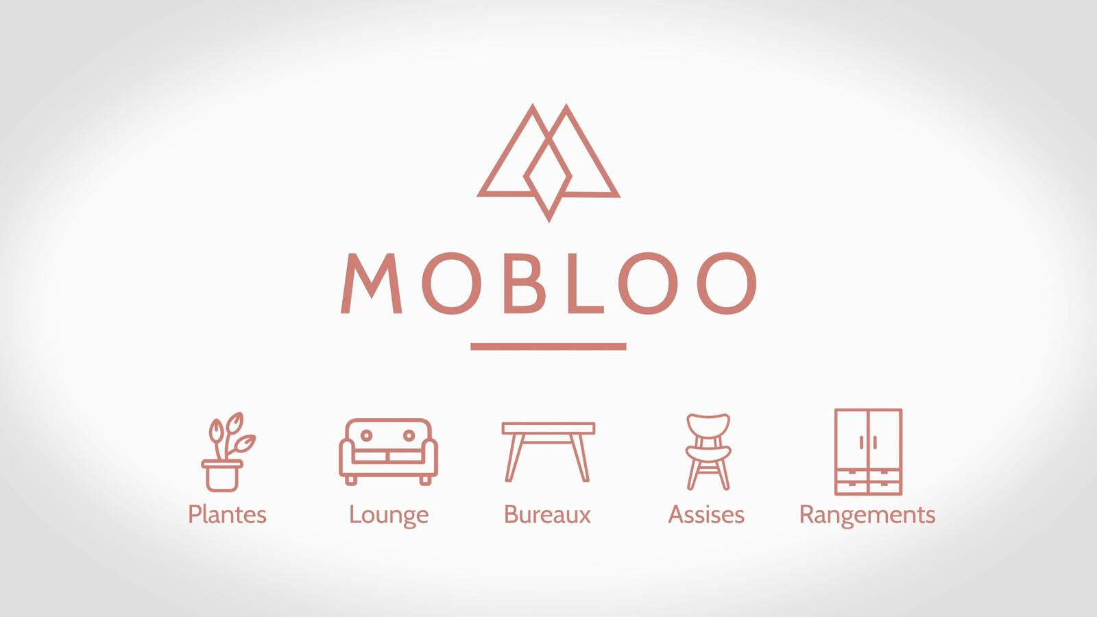ANIMATION DE LOGO / MOBLOO