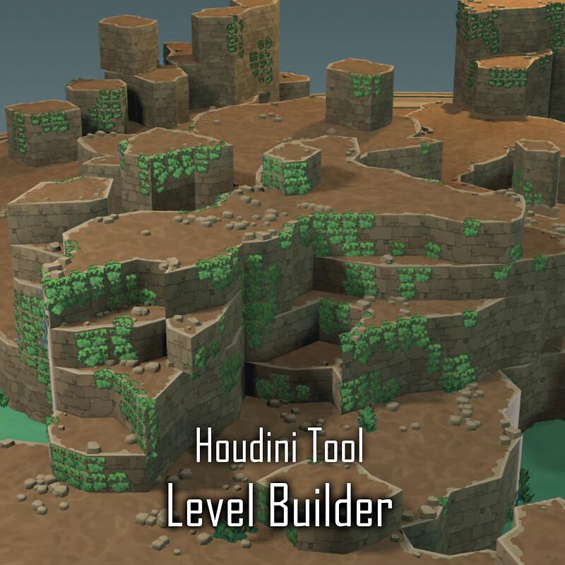 Hob Level Builder in Houdini