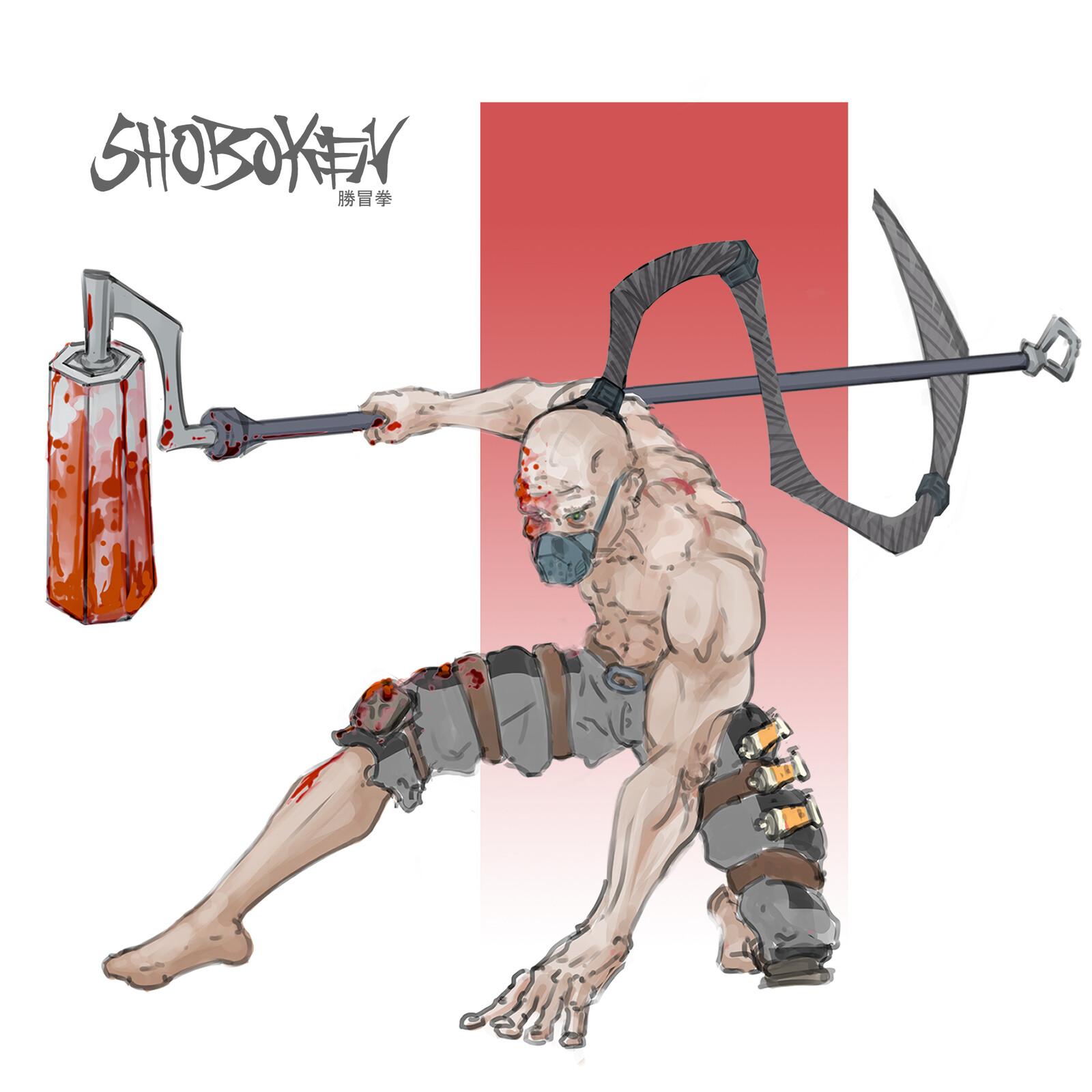 Sho - The Chosen Exile |  Character Concept